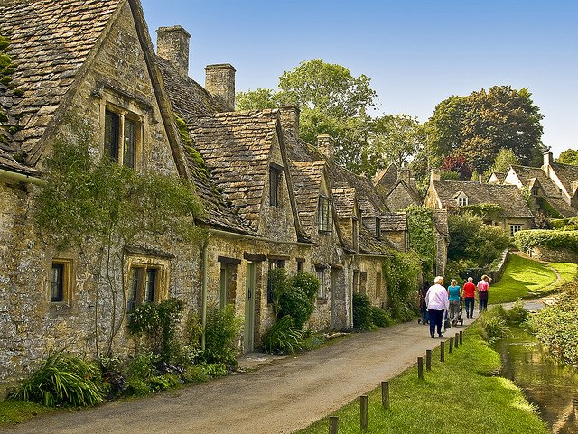 Bibury - 10 of the prettiest English villages on GlobalGrasshopper.com