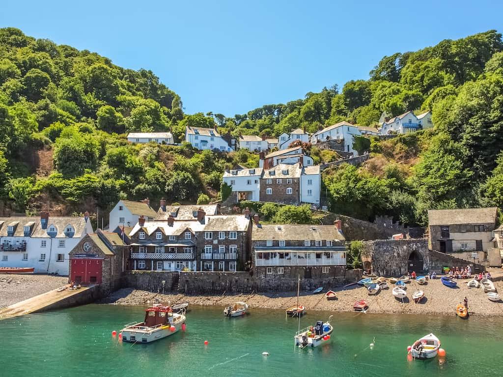 Clovelly pretty village Devon
