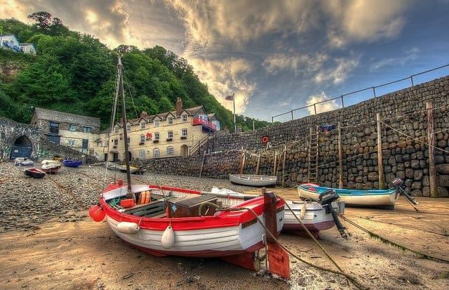 Clovelly - 10 of the prettiest English villages on GlobalGrasshopper.com