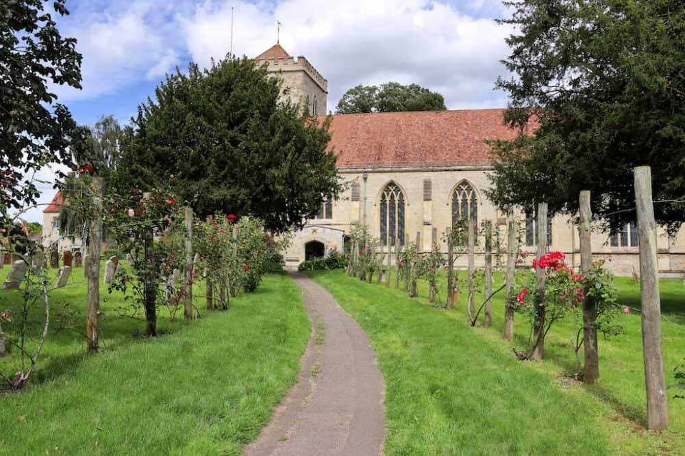 Dorchester-on-Thames village