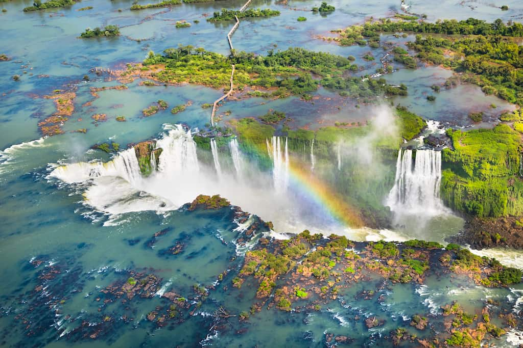Iguazu Falls - most beautiful places to visit in South America