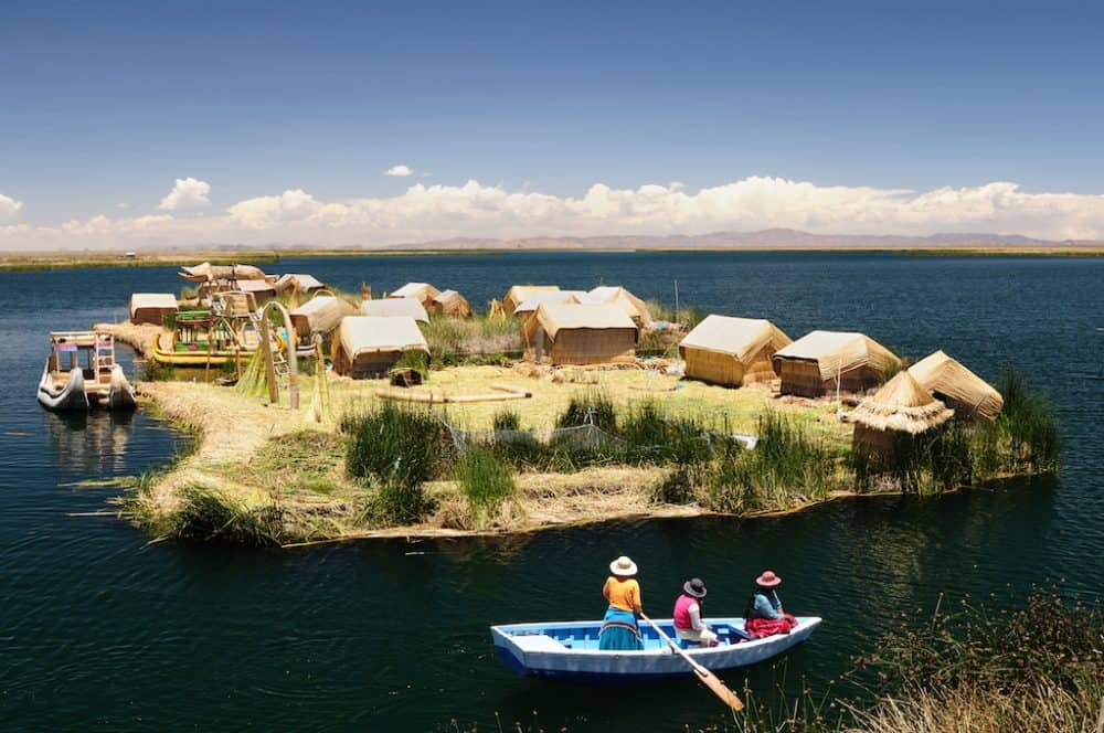 Lake Titicaca South America