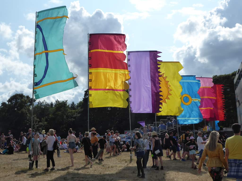 Latitude festival UK