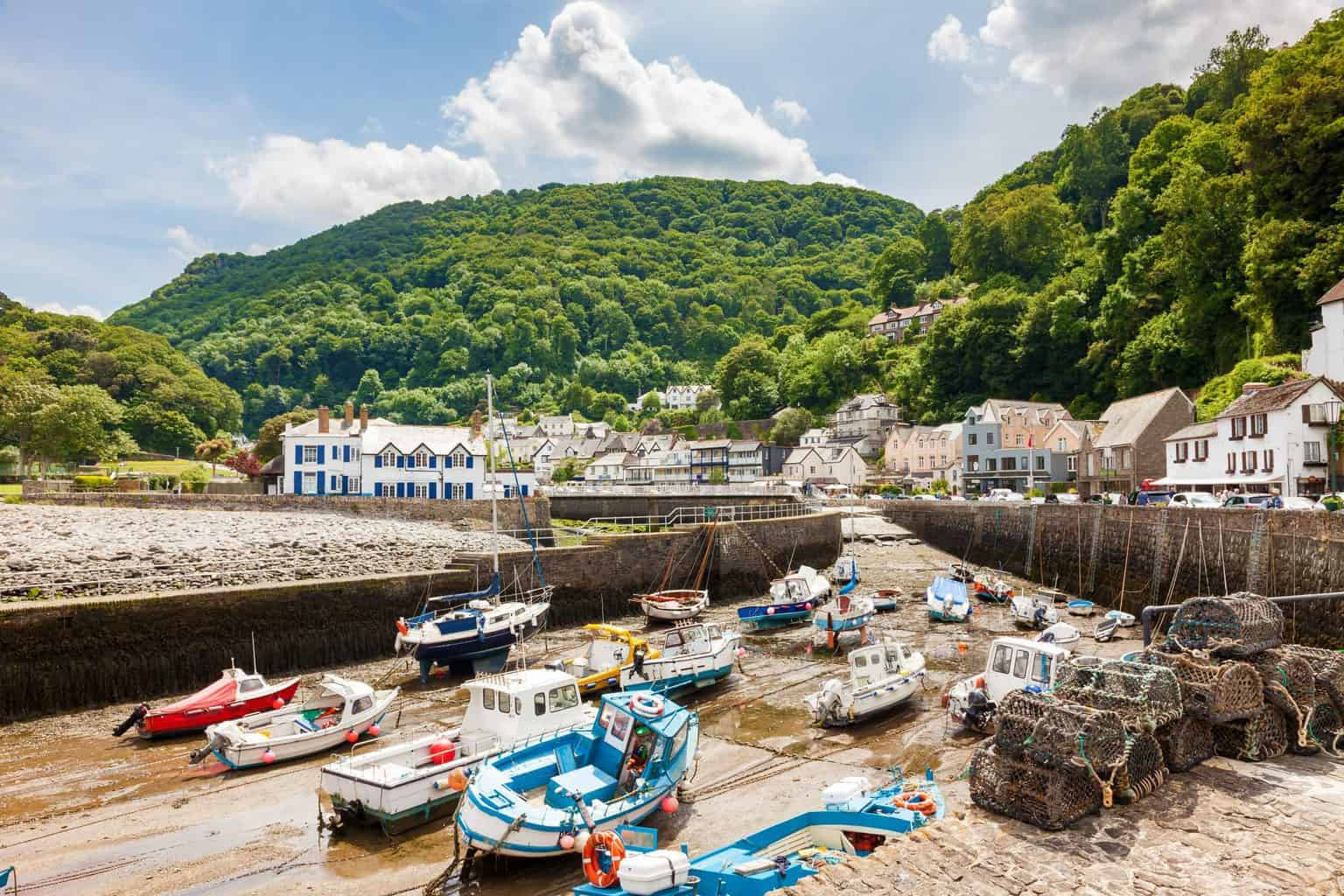 Lynmouth, Devon - most beautiful villages in England