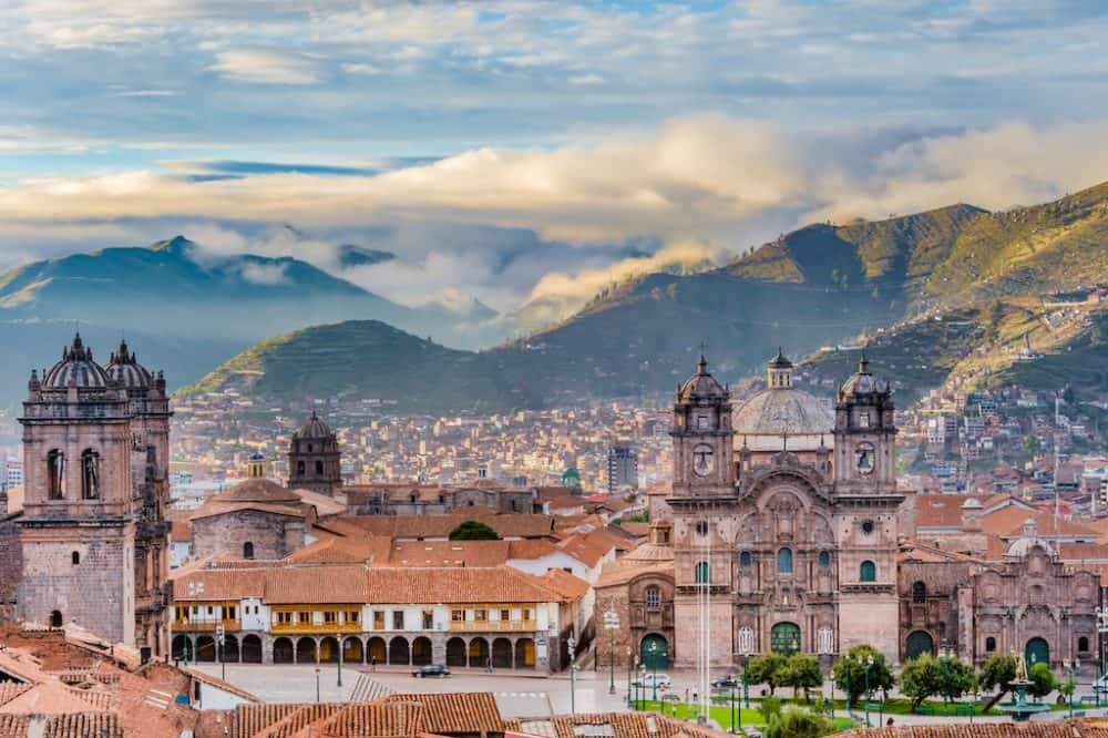 Beautiful Cusco city in Peru