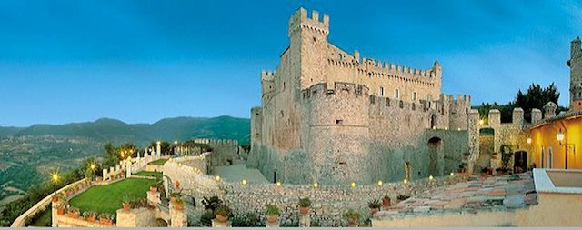Castello Orsini - best castle hotels on GlobalGrasshopper.com