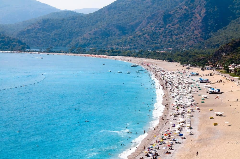 Fethiye city in Turkey