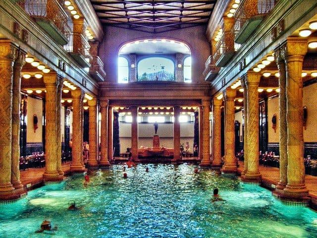 Gellert baths, Budapest - spring and spa breaks on GlobalGrasshopper.com