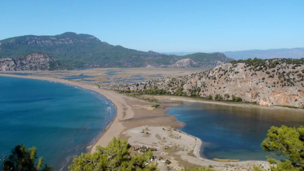 Iztuzu Beach in Turkey