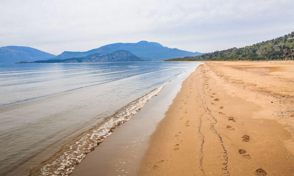 Iztuzu Beach Turkey