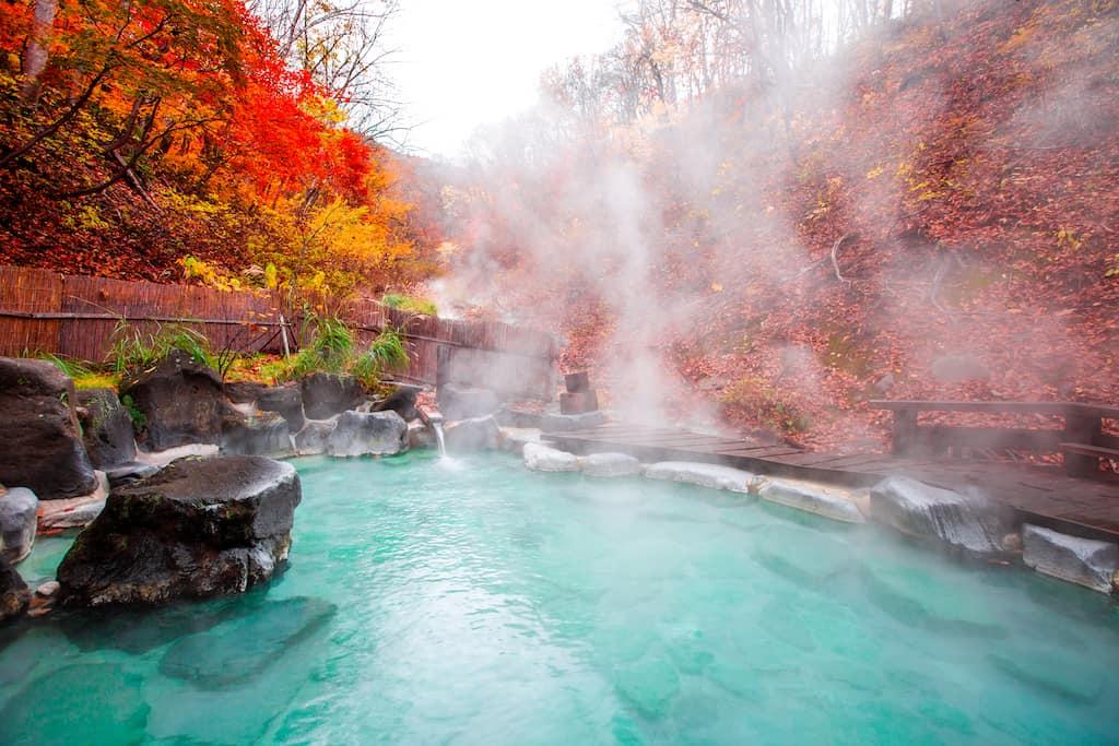 Kurokawa spa resort Japan