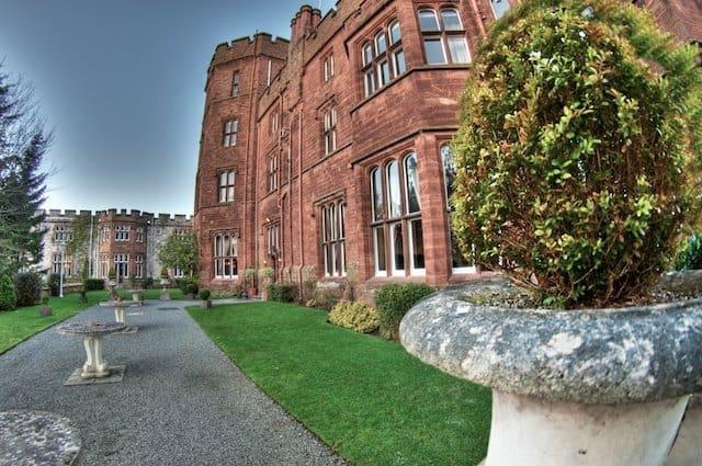 Ruthin Castle - best castle hotels on GlobalGrasshopper.com