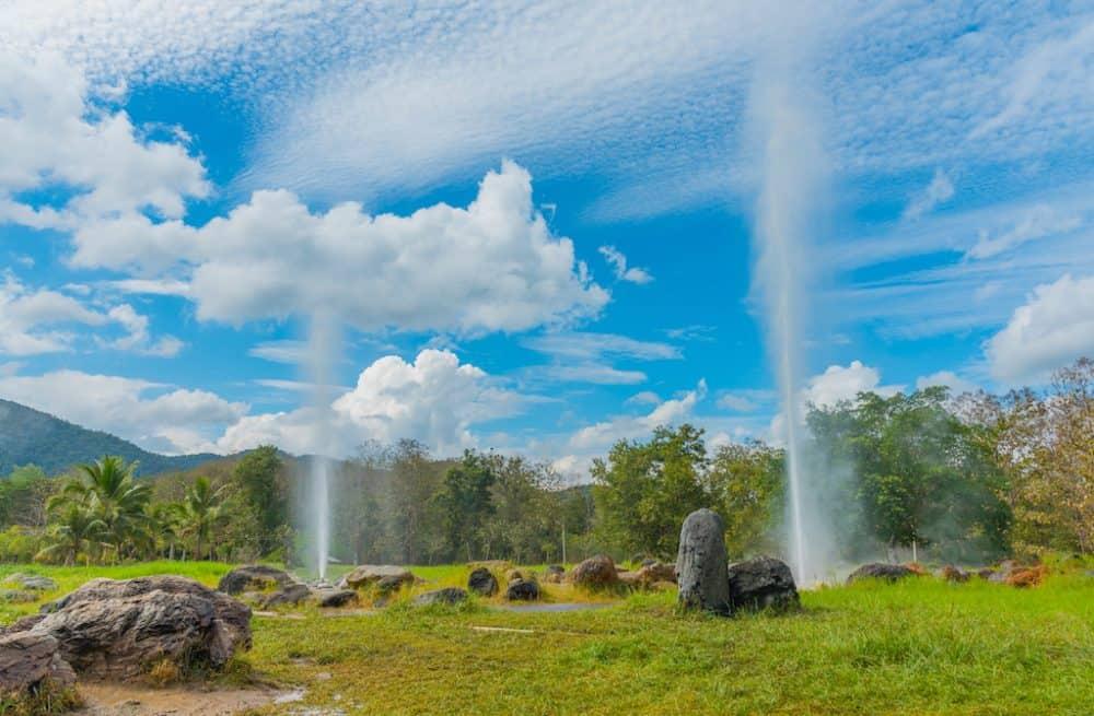 San Kamphaeng Hot Springs Thailand