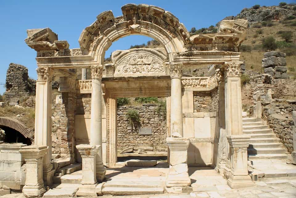 Temple of Hadrian, Turkey