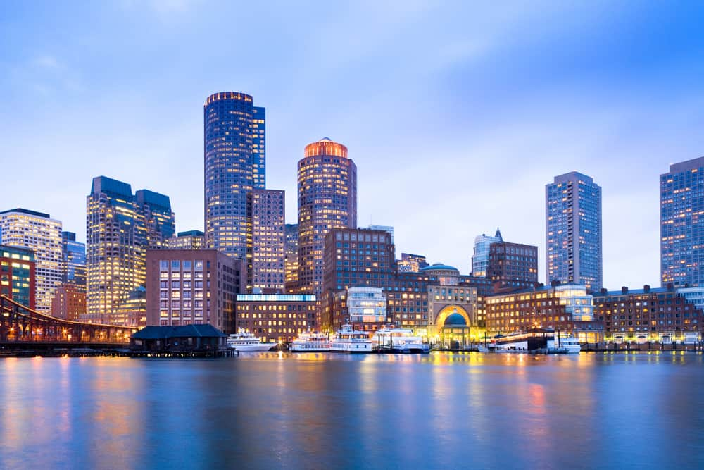 Boston - best skylines in the world