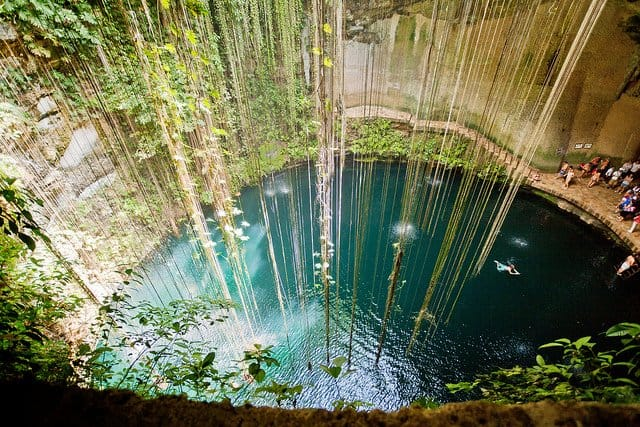 Cenotes Mexico - beautiful natural landscapes on GlobalGrasshopper.com