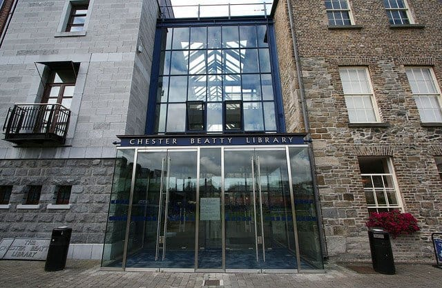 Chester Beatty Library -Dublin Literature Trail on GlobalGrasshopper.com