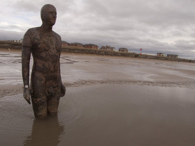 Crosby Beach, England -world's strangest beaches on GlobalGrasshopper.com