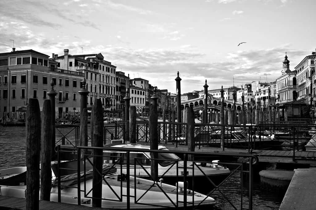 Venice in Black and White on GlobalGrasshopper.com