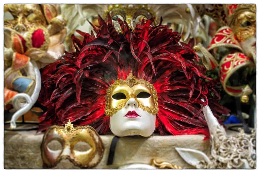 Venice Masquerade Mask in Big Picutres on GlobalGrasshopper.com