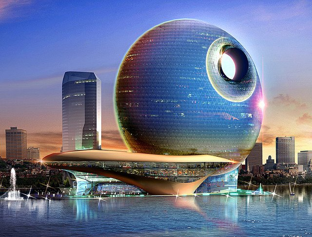 Death Star Hotel - Top 10 futuristic hotels on GlobalGrasshopper.com
