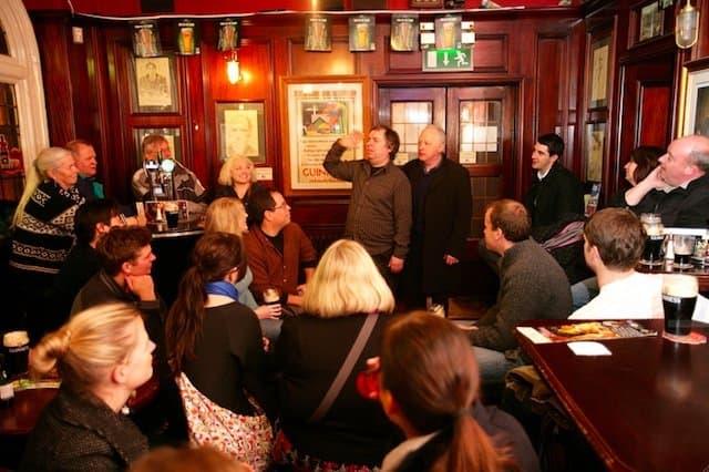 Dublin Literary Pub Crawl on GlobalGrasshopper.com