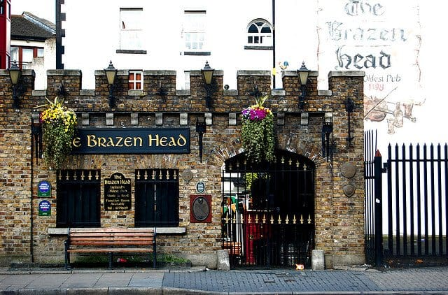 Folklore Night Brazen Head Dublin - Literary Trail on GlobalGrasshopper.com