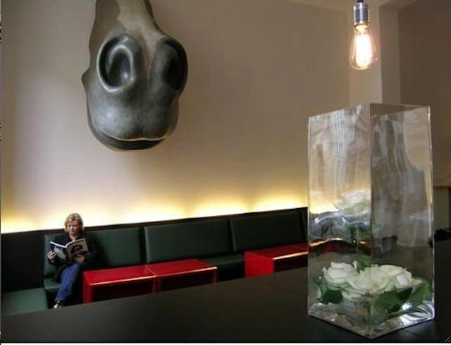 Kunsthotel Berlin - unusual hotel lobbies on GlobalGrasshopper.com