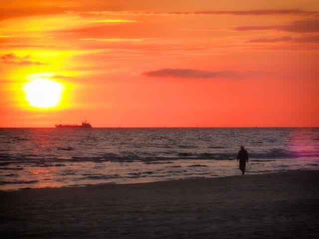 Liepaja sunset, Latvia on GlobalGrasshopper.com
