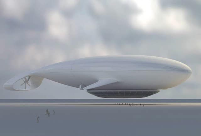Manned Cloud-Flying Hotel - Top 10 futuristic hotels on GlobalGrasshopper.com