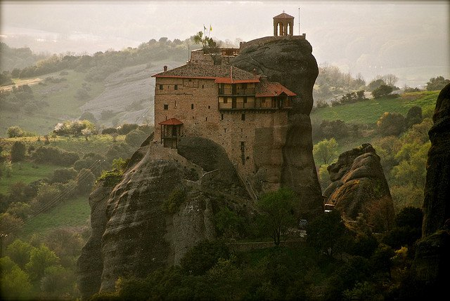 Meteora - most beautiful places to visit in Greece on GlobalGrasshopper.com