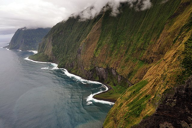 Molokai sea cliffs - Top 10 Most beautiful places to visit in Hawaii on GlobalGrasshopper.com