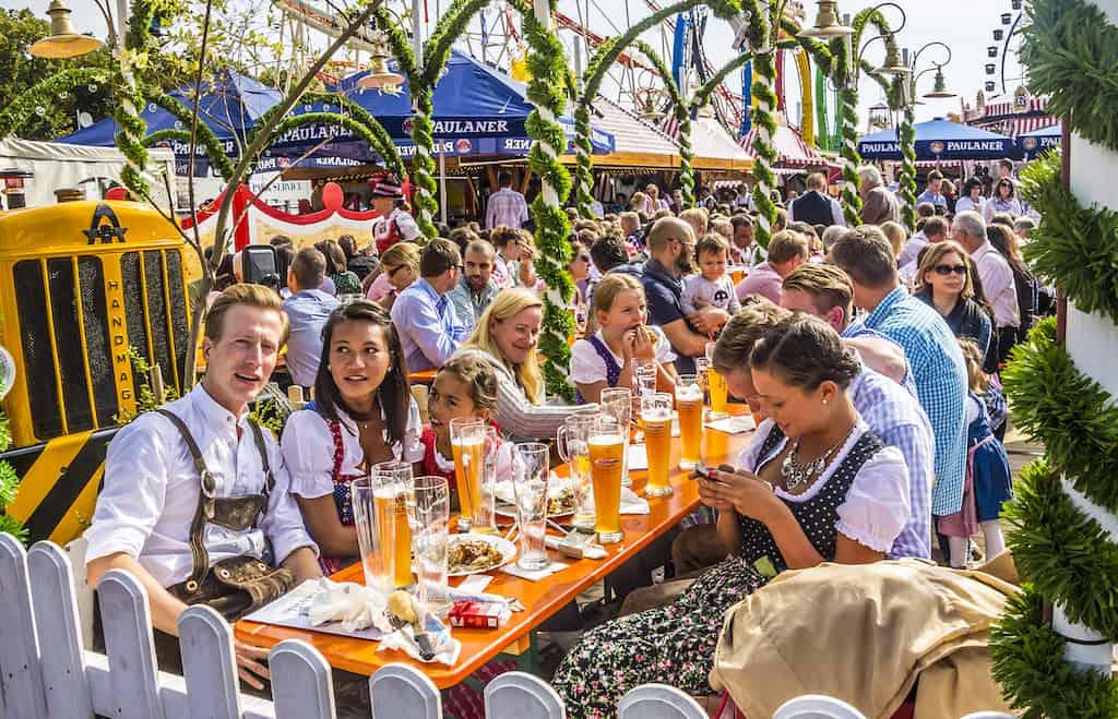 Oktoberfest festival - best beer festivals