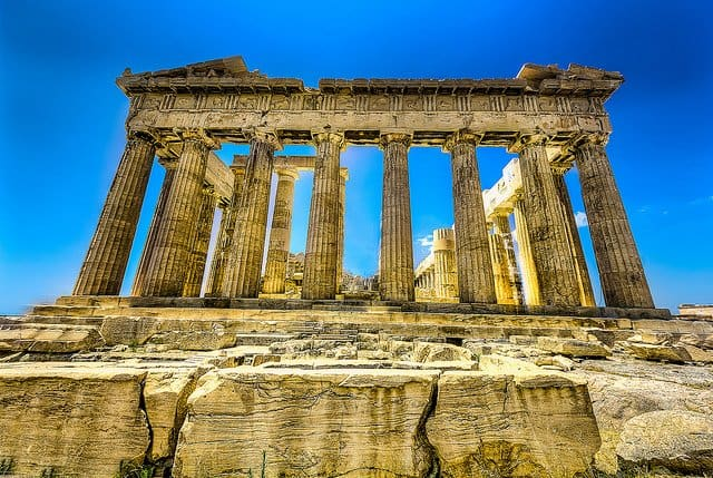 Parthenon Acropolis - most beautiful places to visit in Greece on GlobalGrasshopper.com