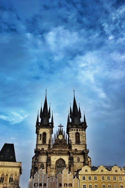 Prague Old Town Spires