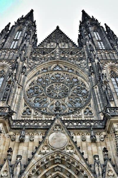 Prague Castle St Vitus Cathedral