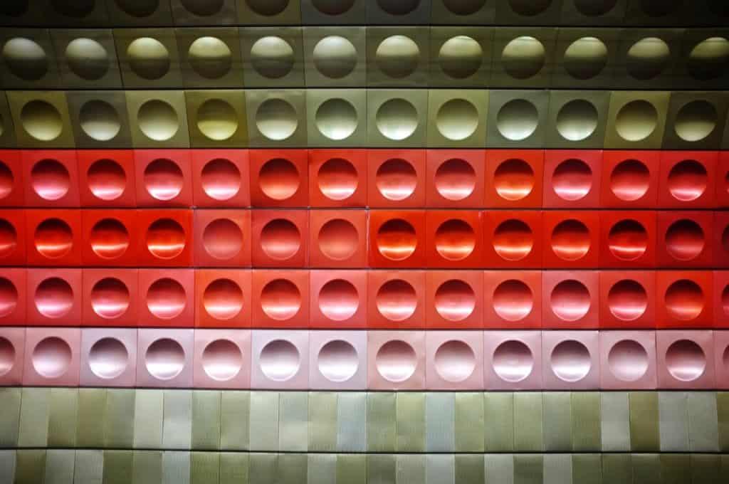 Prague Metro Wall