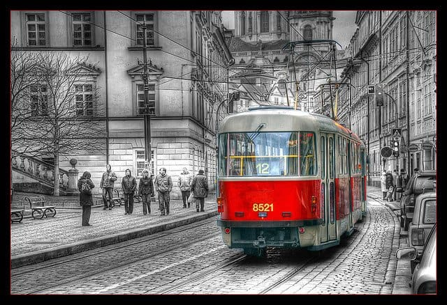 Prague Tram - How to see Prague in Day on GlobalGrasshopper.com