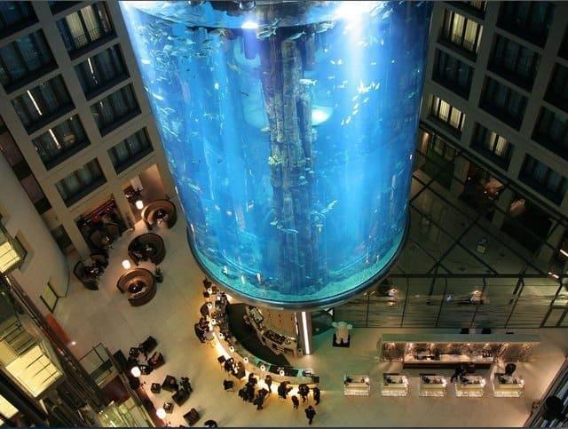 Radisson Blu Hotel Berlin - unusual hotel lobbies on GlobalGrasshopper.com