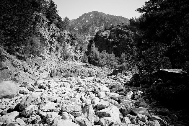 Samaria Gorge - most beautiful places to visit in Greece on GlobalGrasshopper.com