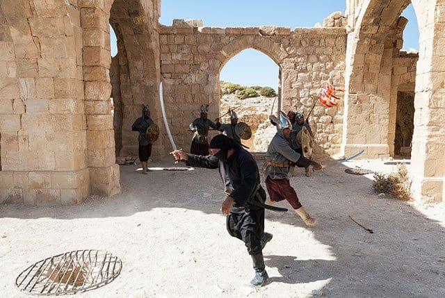 Shobak-Castle-Ayoubi-Show-Fight