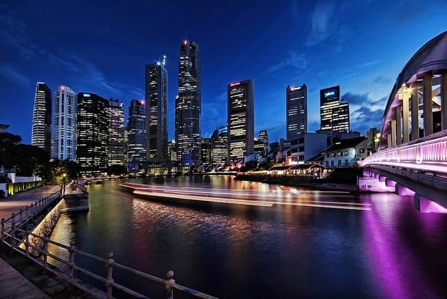 Singapore Skyline on GlobalGrasshopper.com