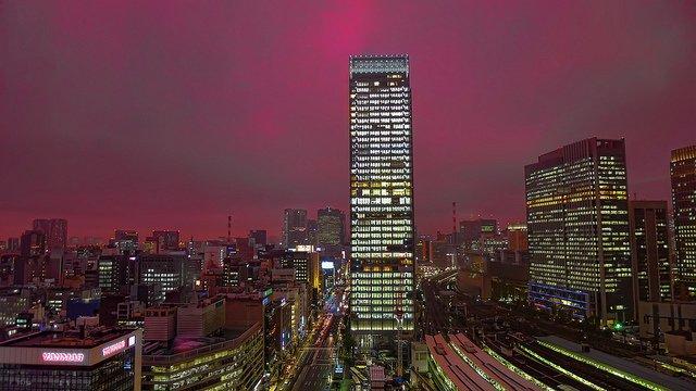 Tokyo Skyline on GlobalGrasshopper.com