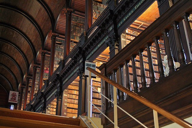 Trinity College Library Dublin - Literary Trail on GlobalGrasshopper.com