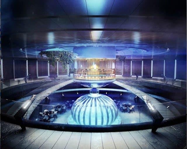 Underwater Hotel Dubai - unusual hotel lobbies on GlobalGrasshopper.com