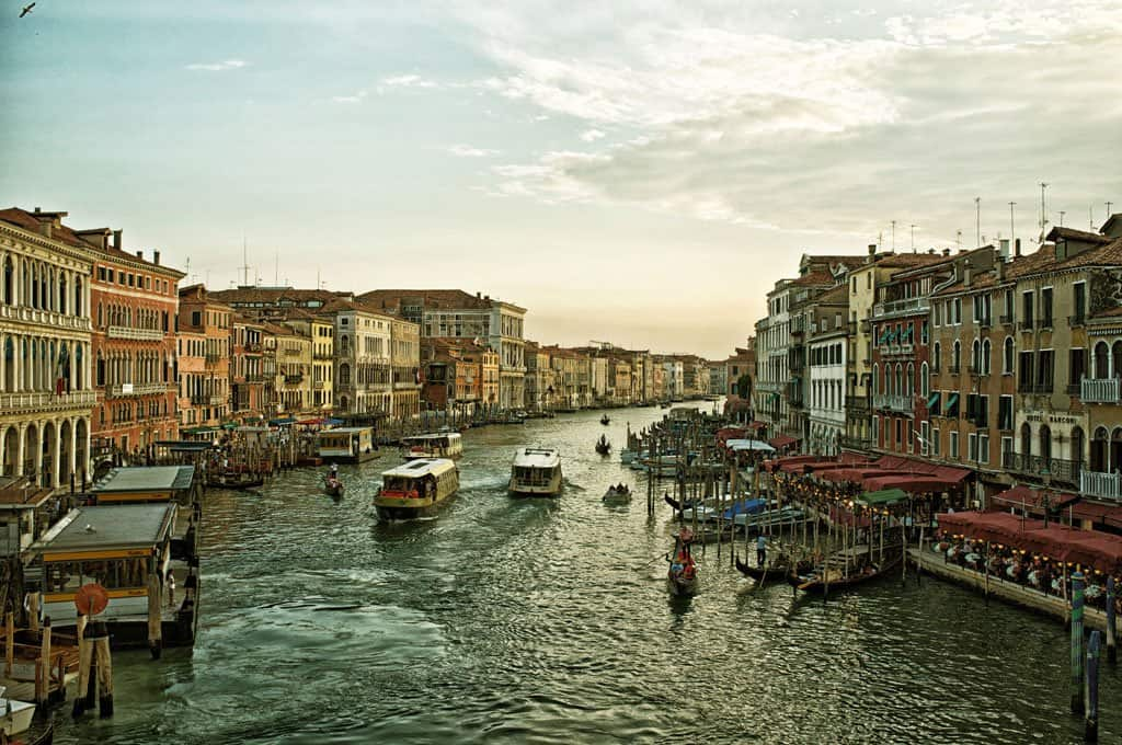 Venice Grand Canal - Venice in Big Pictures on GlobalGrasshopper.com