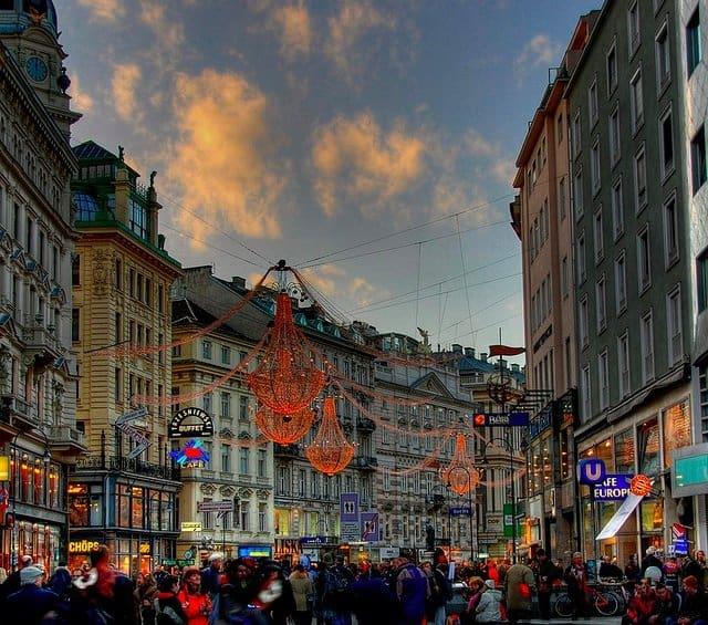 Vienna - beautiful cities in Europe on GlobalGrasshopper.com
