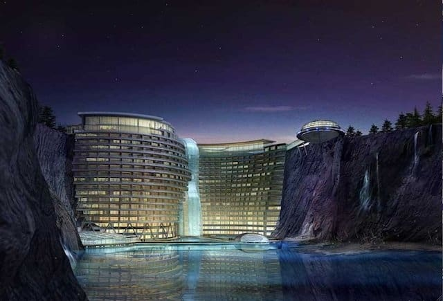 Waterworld Hotel – Songjiang, China - futuristic hotels on GlobalGrasshopper.com