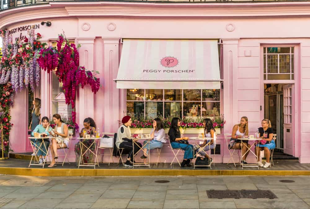 Belgravia cafe London