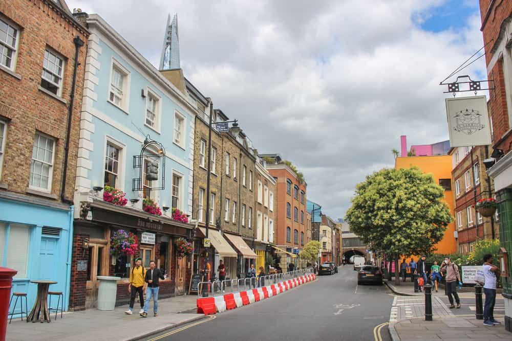 Bermondsey neighborhoods London